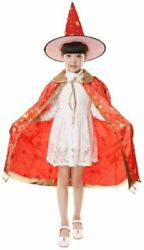 Kanetsu Halloween Christmas Costume Childrenand039s Goods Witch Cloak Hat Japan New