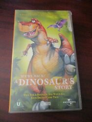 We're Back A Dinosaurs Story  Vhs Video Tape New