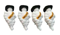 Michelin Plastic Doll 8 Inch X 4 For Deco Truck With Cowboy Hat And Light Night