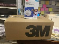 Case Of Genuine 3m 8511 N95 Face Masks With Valve 80-count