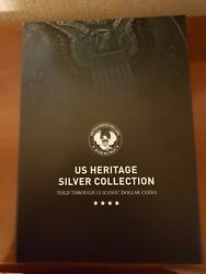 Full Us Heritage Silver Coin Collection Dollars And Half Dollars