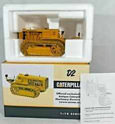 Spec Cast Toys Cat Caterpillar D2 Orchard Model Tractor With Tracks 1/16 Scale