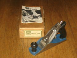 Sears Companion Smooth Wood Plane No.37053 9 Inch Long 2 Cutter