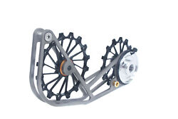 Swishti Road Cycling Oversized Pulley Titanium Cage For Sram Force Etap Axs Blk