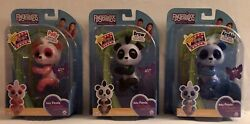 Fingerlings Set Of 3 Glitter Baby Pandas-polly, Archie And Drew