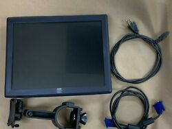 Elo Et1515l-8cwc Touch Screen Monitor, With Pole Mount Hardware Refurbished