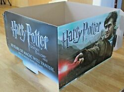 Harry Potter And The Deathly Hallows Part 2 Cardboard Poster Store Display
