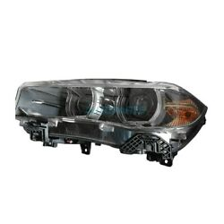 New Left Side Hid Headlight Lens And Housing Fits 2014-2018 Bmw X5 Bm2518149