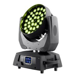 4-color 36x Led Stage Light Wash 10w Moving Head Rgbw With Zoom And Touch Control
