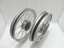 Royal Enfield 19 Front And 18 Rear Wheel Rim Set For Classic C5 Uce New Brand @t
