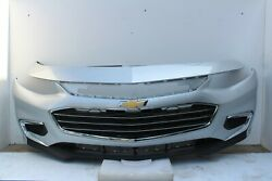 2016-2017-2018 Chevy Malibu Front Bumper Assembly Oem Switch Blade Silver K108