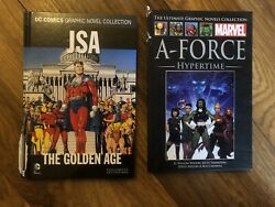New Dc Comics Jsa The Golden Age And Marvel A-force Hypertime Comic Books