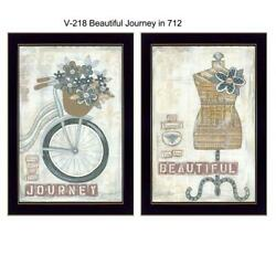 Beautiful Journey Collection By Annie Lapoint Printed Art Wood Multi-color