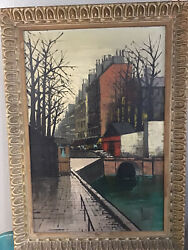 Original Oil Painting By Enzo Linca Modernist City Scape 43andrdquox30andrdquo