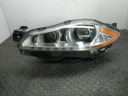 Driver Headlight Xenon Hid Without Adaptive Headlamps Fits 10-15 Xj 675887