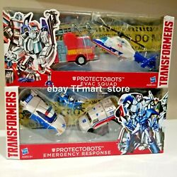 Transformers Protectobots Evac Squad And Emergency Response Complete Set Misb