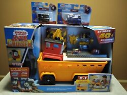 Thomas And Friends⭐ Super Cruiser Transforming Train ⭐track Set +diesel +belle New
