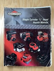 Briggs And Stratton Single Cylinder L Head Engine Repair Manual