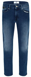 Otto Kern Ray Blue Used 67013 6900.6832 - Regular Fit Stretch Jeans Herren