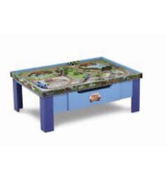 Thomas And Friends Wooden Railway Train Table With Drawer