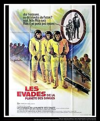 Escape From Planet Of The Apes 4x6 Ft French Grande Movie Poster Original 1971