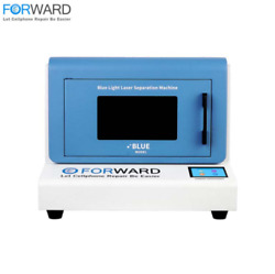 Forward Blue Iphone Back Glass Seperator Laser Machine With Fume Extract