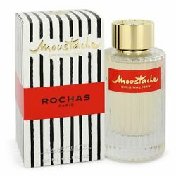 Moustache By Rochas 4.1 Oz Edt Cologne Spray For Men New In Box