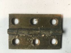 Antique Brass Hinges And Turn Buttons From Old Church At Least 100 Years Old