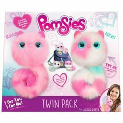 Pomsies Blossom And Patches Plush Toy 2 Pack