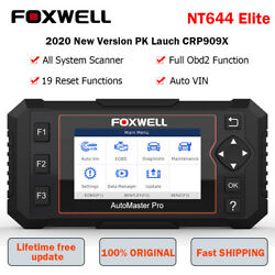 Foxwell Nt644 Elite All Sysytem Obd2 Diagnostic Scanner Srs Abs Dpf Tpms Oil Epb