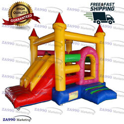 16x13ft Commercial Inflatable Jumping Combo Bounce House With Air Blower