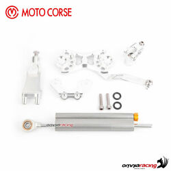 Motocorse Silver Mounting Kit+steering Damper Ohlins Mvagusta Dragster 800 Rr 17
