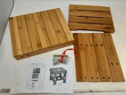 A Selected Bamboo One Step Stool Wooden Foot Stool With Storage Shelf