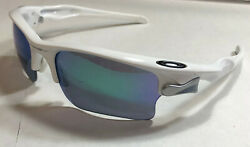 Oakley Sunglasses: Fast Jacket XL Polished White Jade Iridium $89.99