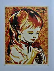 War By Numbers Red Signed/numbered Screen Print Obey Shepard Fairey