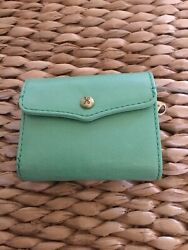 HOBO WALLET Credit Card Holder Leather Mint NWT $54.00