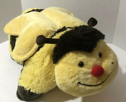 Pillow Pets Large Plush Yellow Bumble Bee Pillow 18quot; inches Super Soft Cuddle