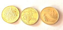 Sale--3- Canadian 100 Gold Coins- One Money- See Other Gold Coin Listings