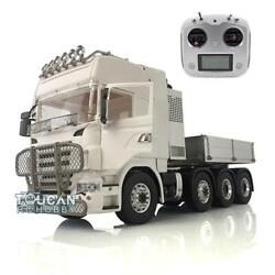 1/14 Metal 88 Lesu Scania Chassis Hercules Tractor Truck Radio Sound Hopper Car