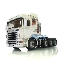1/14 Rc Lesu Metal 88 Axles Chassis Gripen Hercules Scania R730 Tractor Truck