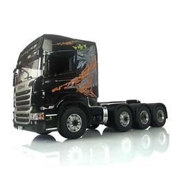 Lesu Metal 88 Chassis 1/14 Rc R730 Scania Tractor Truck Painted Hercules Cabin