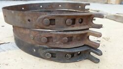 1912 1925 Model T Ford Quick Change Transmission Brake Bands Original Set 3