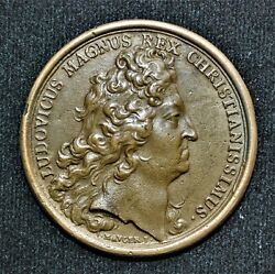 Cast Re-strike - 1700 France, Chamber Of Commerce Medal By J. Mauger, 41mm