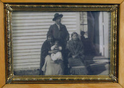 Harmon Percy Marble Vintage Photograph Native American Sioux Family Rare
