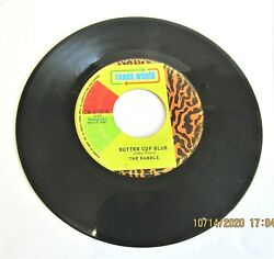 1-7-45 Rpm-rare-the Rabble-miss Money Green-butter Cup Blue-trans-world-tw-1703