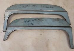 1971 1972 Lincoln Fender Skirts Continental Steel Pair Used Original Ford