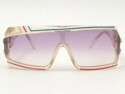 New Vintage Cazal Mod 858 253 Translucent 1980and039s Made In West Germany Sunglasses