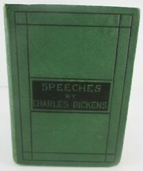 1870 Speeches Literary And Social By Charles Dickens Very Nice Hardback