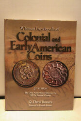 Whitman Encyclopedia Of Colonial And Early American Coins By Bowers 2nd Edition