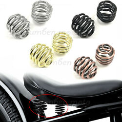 Motorcycle Barrel Solo Seat Springs 2quot; Fit For Harley Honda Bobber Chopper $8.89